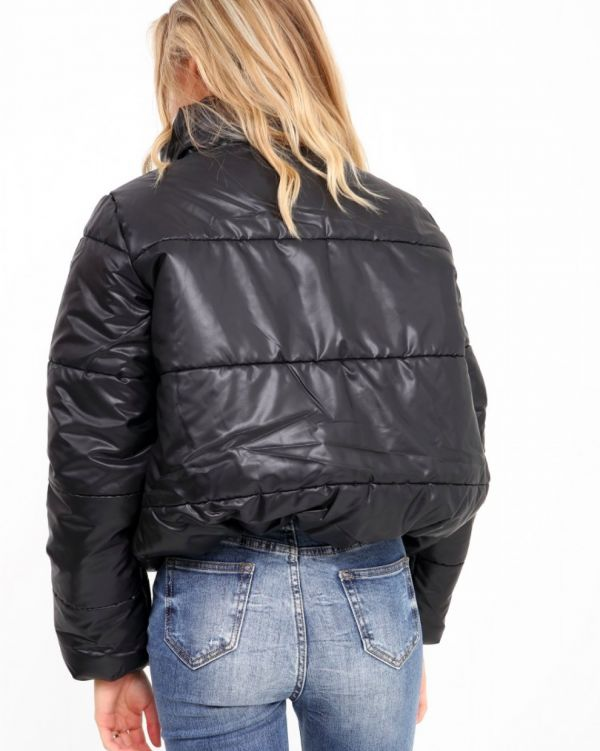 Karissa Puffer Jacket In Black