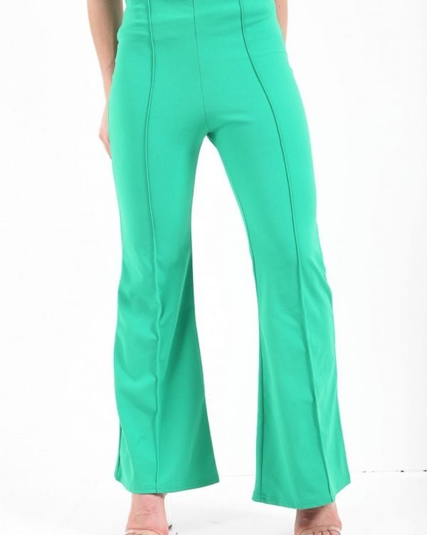 **Kady McDermott** Sadie High Waist Trousers In Green